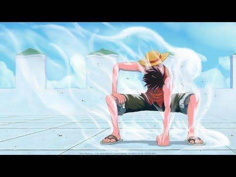 Луффи впервые использует второй гир. Луффи против Бруно Ван Пис/One Piece