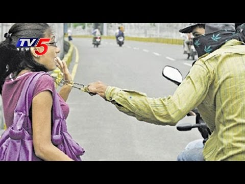Woman Chases Chain Snatchers at Secunderabad | Hyderabad Police | TV5 News