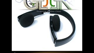 Bluetooth Headphone H610 (FR with english sub)