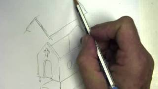 Drawing A Birdhouse