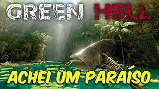 ACHEI O MELHOR LUGAR DO MAPA! | Green Hell #3