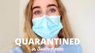 QUARANTINED in South Korea | 14 day gov facility quarantine vlog