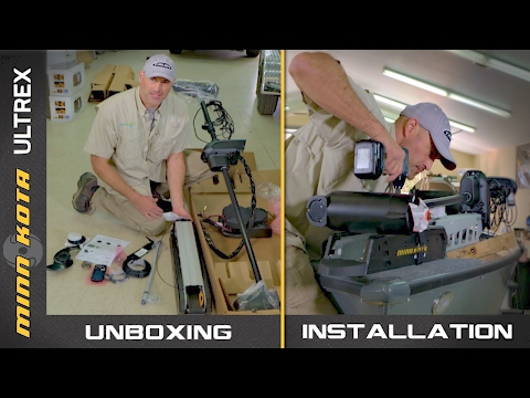 Minn Kota Ultrex Unboxing and Installation (Step-By-Step)