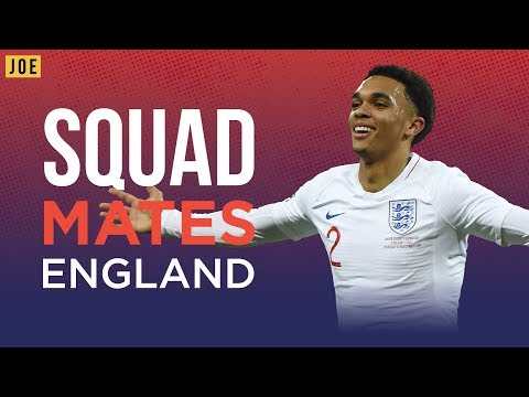 Jesse Lingard, Trent Alexander-Arnold and Joe Gomez on teammates in the England squad