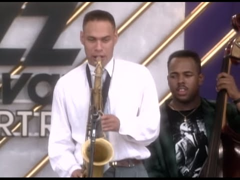 Joshua Redman - Full Concert - 08/14/93 - Newport Jazz Festival (OFFICIAL)