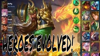 Heroes Evolved Gameplay! (new Moba Games) For Android And Ios