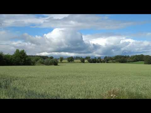 Clouds And Field Rural Perthshire Scotland