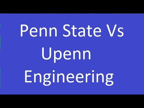 Penn State Vs Upenn Engineering