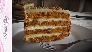 Морковный торт как в STARBUCKS | Рецепт