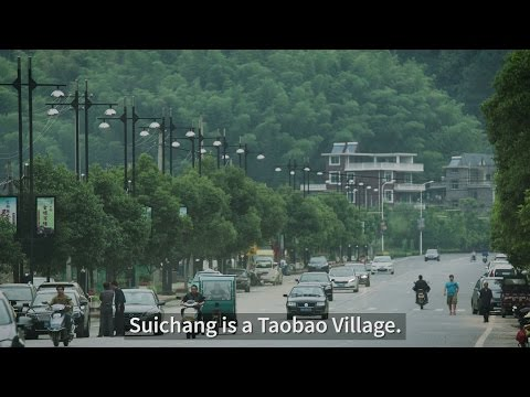 Why does this Chinese Village have so Many E-businesses?