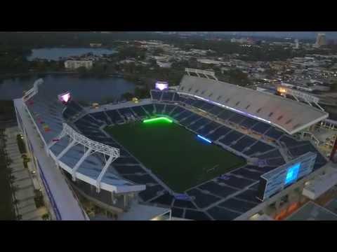 Florida Citrus Bowl Orlando Drone video