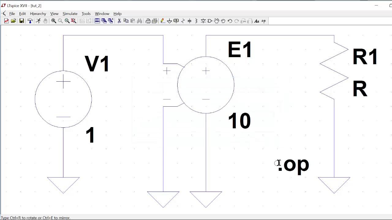 Tutorial 2 ltspice voltage controlled voltage source simulations tutorial 2 ltspice voltage controlled voltage source simulations biocorpaavc Images