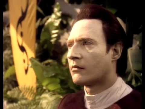 TNG Data corrects a pre-industrial teacher (Thine Own Self)