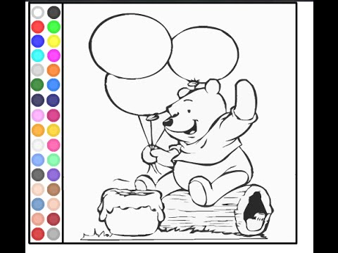 Winnie The Pooh Coloring Pages - Disney Online Coloring Pages For ...