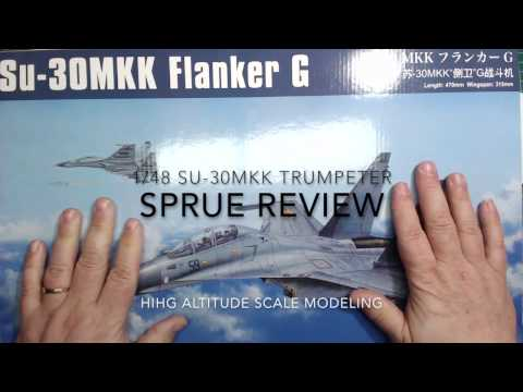 Sprue review Hobby Boss 1/48 SU 30MKK