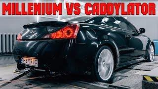 Millenium Infiniti G37s, настройка и гонка с Caddylator