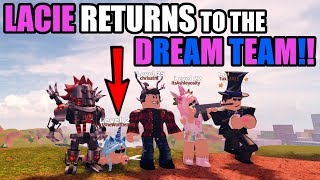 DREAM TEAM IS BACK | LACIE RETURNS! Roblox JAILBREAK
