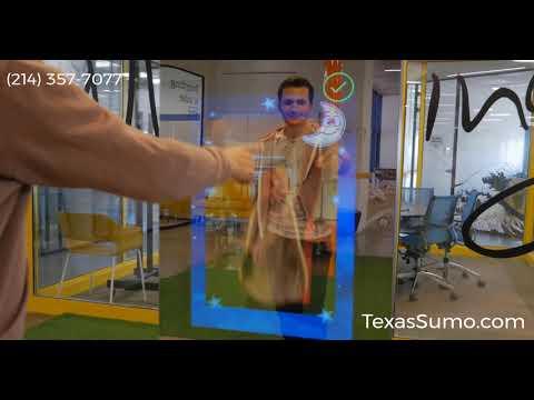 Mirror Photo Booth Rental - Touchscreen Features - Dallas, TX
