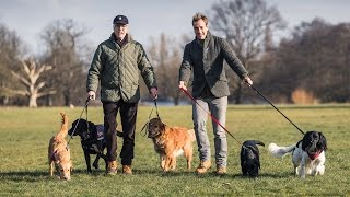 Ben And Bruce Fogle Launch The Great British Dog Walk