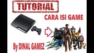 Cara Isi Game ke PS3 versi CFW