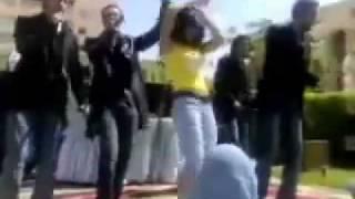 رقص بنات الجامعه