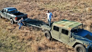Humvee Tug Of War!!!!!