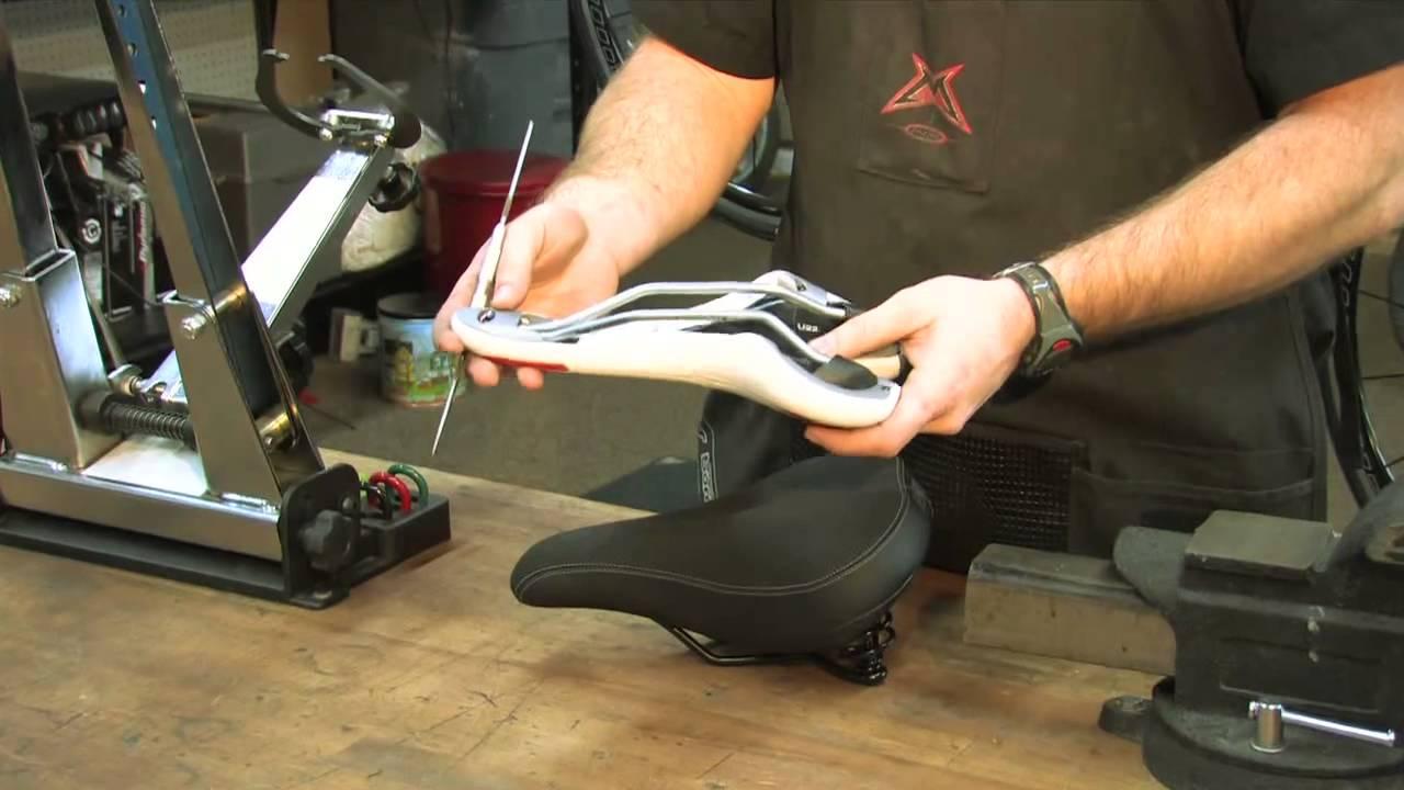 Bicycle Saddle Repair Youtube