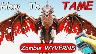 Ark: How To Tąme Zombie Wyvern | ARK Fear Evolved 5 Taming 2021