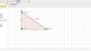 Retvinklet trekant