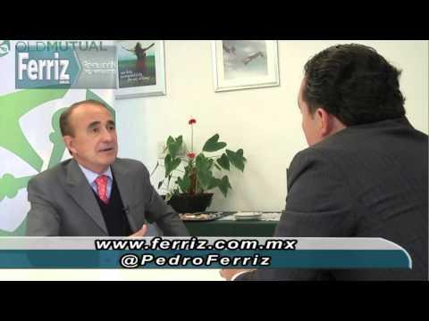 Pedro Ferriz de Con entrevista al Dir Gral Old Mutual, Skandia México