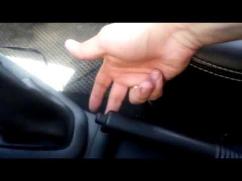Как подтянуть ручник на рено логан 2