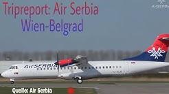 Air Serbia ATR-72 Economy Class Wien-Belgrad|Tripreport