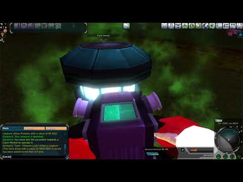 Entropia Universe: 25 PED Calypso Mining Run (A Few Tips, And Two Questions For Viewers)