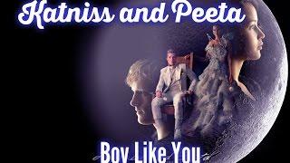 Katniss and Peeta - Boy Like You