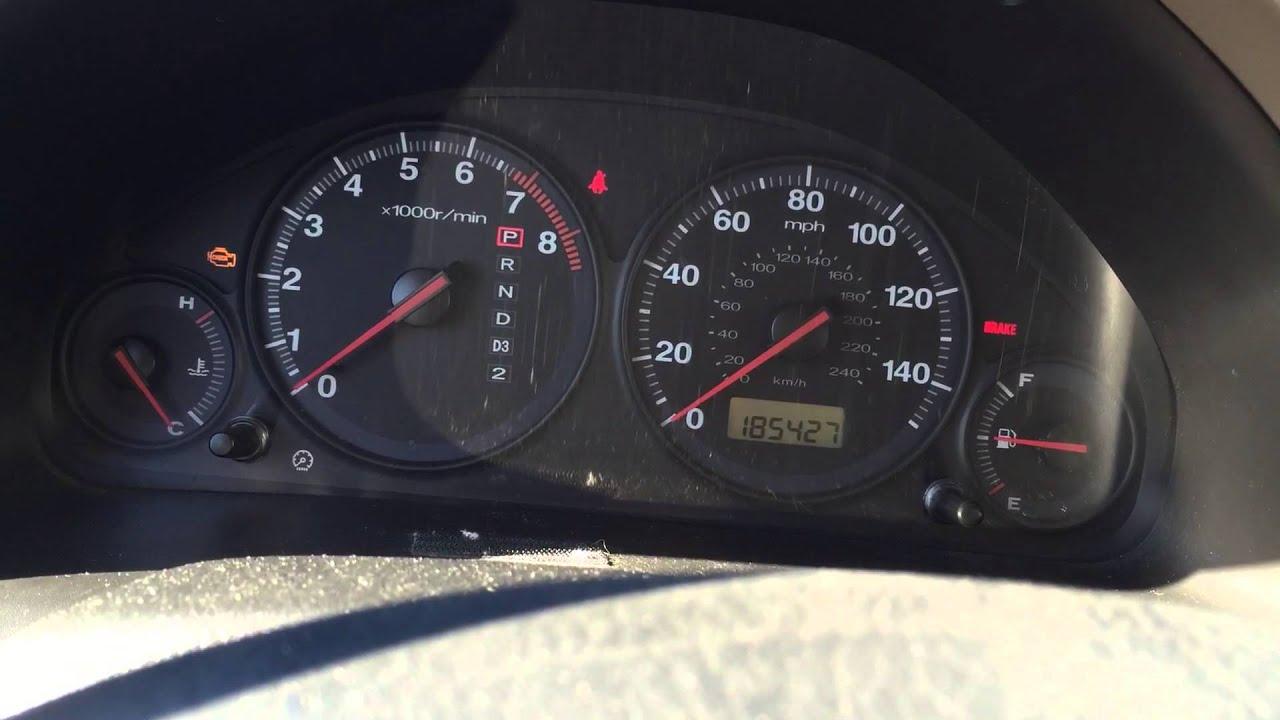2001 Honda Civic Ex Auto Limp Mode