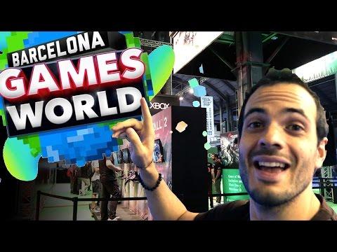 BARCELONA GAMES WORLD - BARCELONA DAILY LIFE VLOG #74