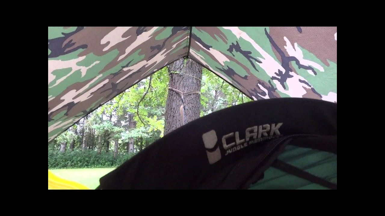 Medium image of clark nx250 hammock first time with it up pt 1