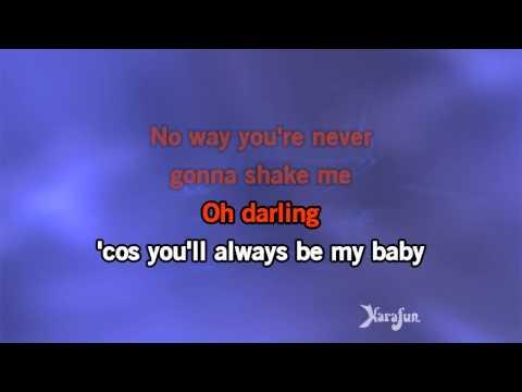 Karaoke Always Be My Baby   David Cook
