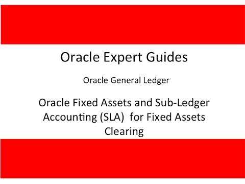 Fixed Asset Accounting In Oracle R12