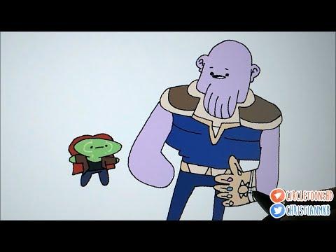 Avengers: Infinity War in a Nutshell
