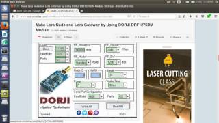 HOW MAKE LORA NODE AND LORA GATEWAY BY USING DORJI DRF1276DM MODULE
