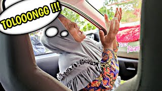Prank nenek goyangin mobil dikira G£mpa Ngakak sumpah🤣