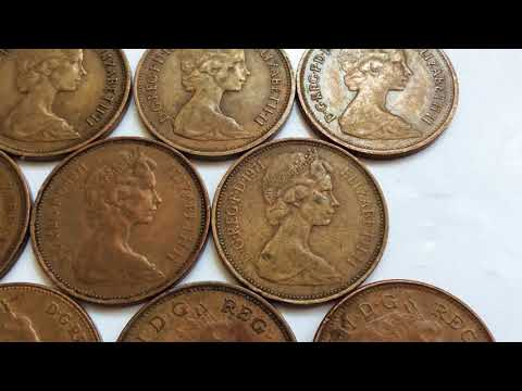 15000 £££ FOR SALE RARE UK 🇬🇧 COINS COLLECTION ELIZABETH ll TWO PENCE COIN WORTH MONEY