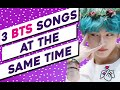 ▐  KPOP GAME  ▌►3 BTS SONGS TO GUESS AT THE SAME TIMEincludes B side tracks, solos &collaborations