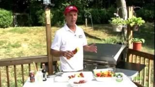 Backyard Grilling - Vegetable & Steak Grilled Kabobs