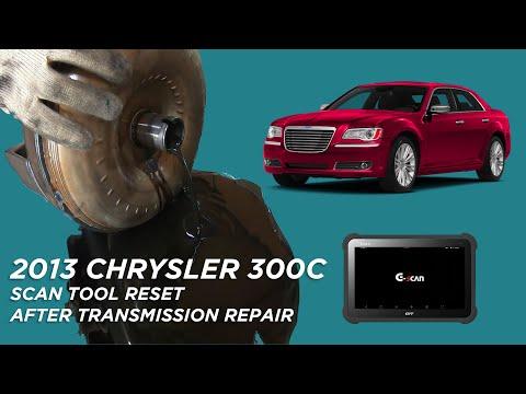 Scan Tool Reset after Transmission Repair on 2013 Chrysler 300C