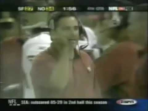 With the 49ers and Saints playing this Sunday, let's flashback to their 2002 Superdome matchup- the first matchup between these teams after realignment, when they were no longer in the NFC West