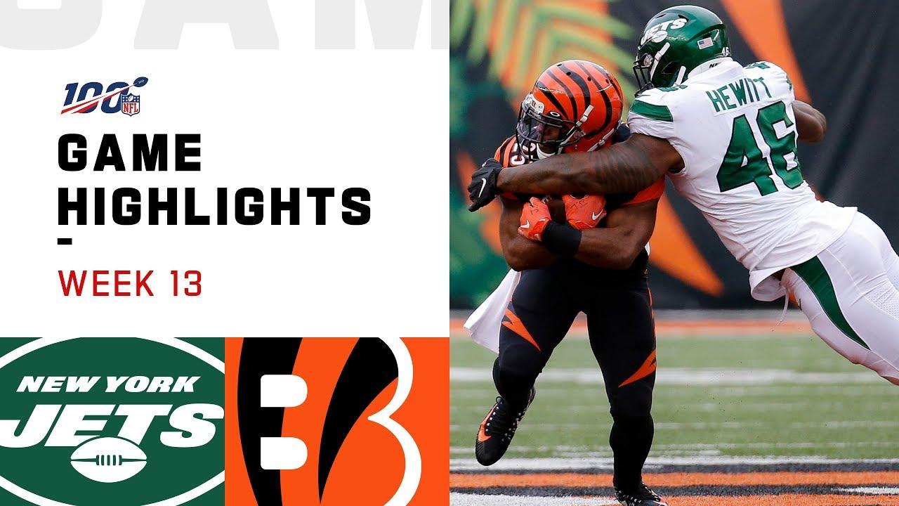 Download Jets vs. Bengals Week 13 Highlights   NFL 2019