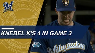 Knebel shuts down Dodgers, strikes out 4