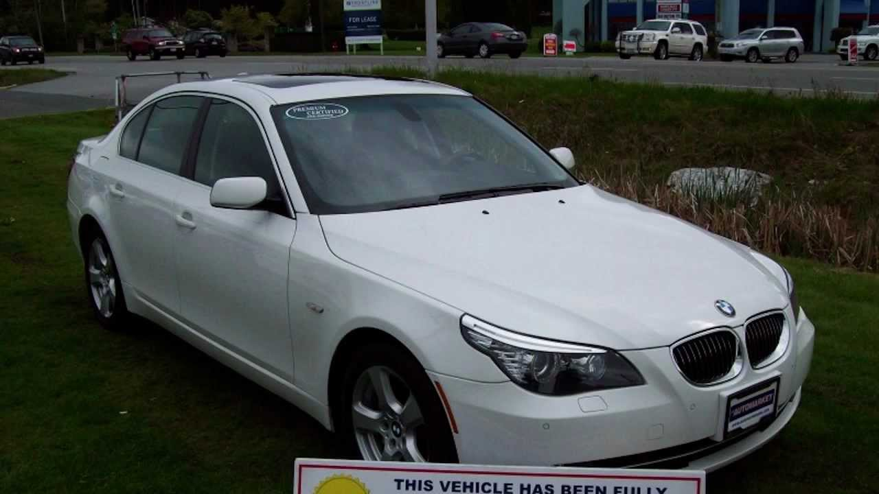 2008 BMW 5 Series XI ALL WHEEL DRIVE TWIN TURBO, LEATHER, INSPECTED ...